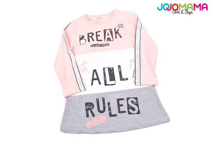 BREAK ALL RULES KIZ ÇOCUK ELBİSE